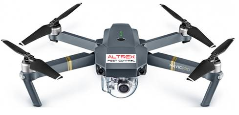 Pest Control Drone